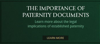 Learn more about the legal implications of established paternity
